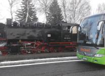 Ein Wintertraum mit der Lößnitzgrundbahn